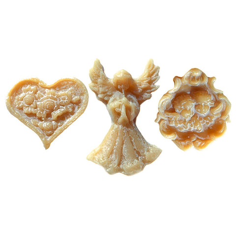 Beeswax Figurine Set: Heart