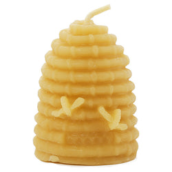 Skep Beehive Beeswax Candle