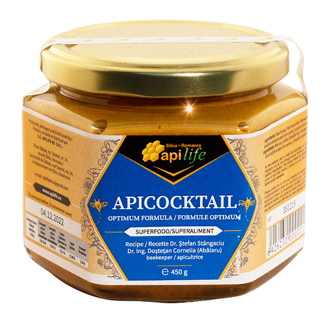 Apicocktail Optimum Formula 450gr Apilife