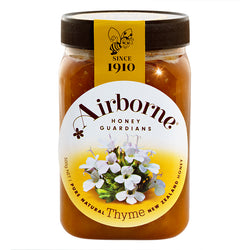 Thyme Honey 500gr unpasturized Airborne New Zealand