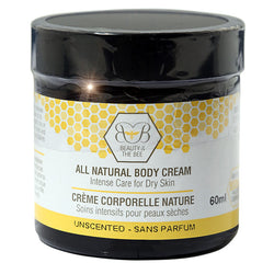 All Natural Beeswax Body Cream 60ml by Beauty and the Bee