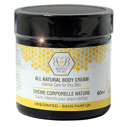 All Natural Beeswax Body Cream 60ml