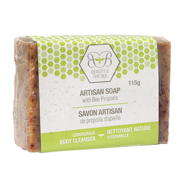 Beauty & The Bee Artisan Soap with Propolis and Beeswax 115gr