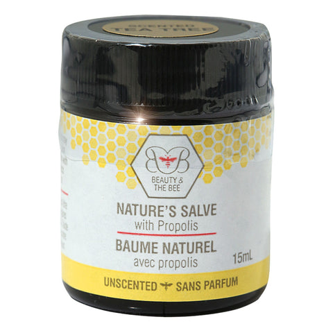 Propolis Salve by Beauty and the Bee 15ml scented with Tea Tree