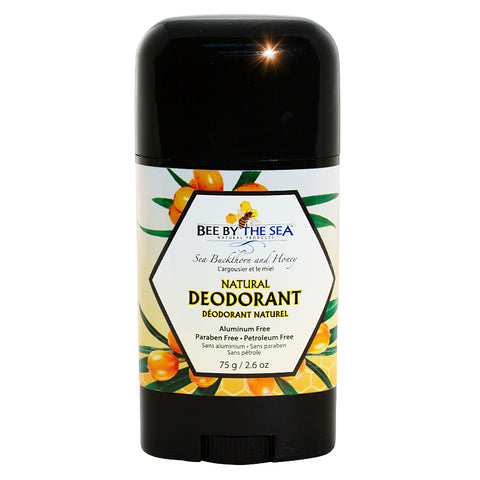 Natural Deodorant with Sea Buckthorn and Honey 75gr Bee By The Sea