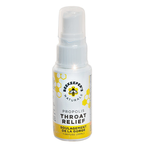 Propolis Throat spray 30ml by Beekeepers' Naturals