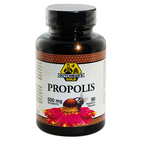 Propolis Capsules 500mg Dutchman's Gold