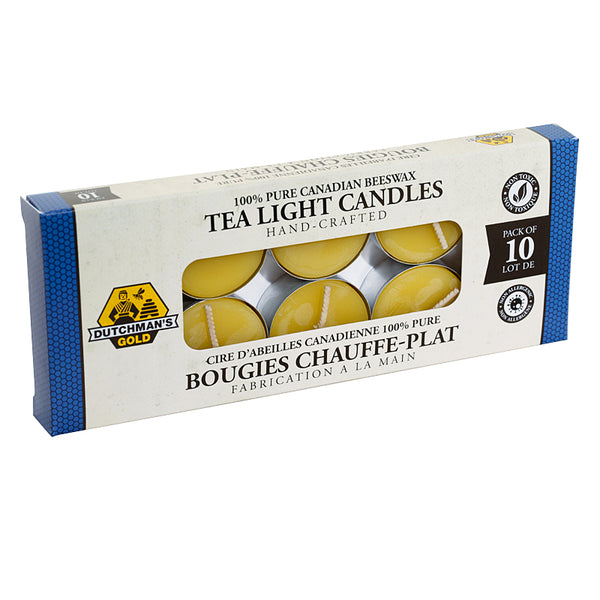Beeswax Candle Tea Lights (10 pack)