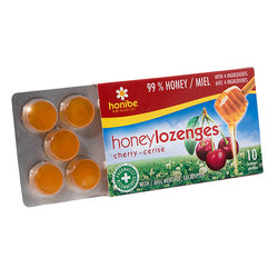 Honey Lozenges Cherry 10 Pack