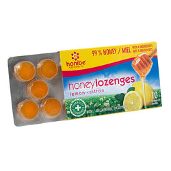Honey Lozenges Lemon 10 pack