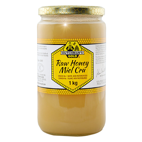 Raw Honey 1kg Glass Jar