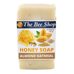 Honey Soap with Oatmeal and Almond 100gr