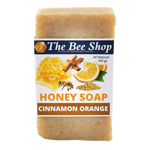 Honey Soap - Cinnamon - Orange 100gr