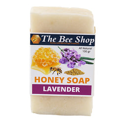 Honey Soap - Lavender and Bee Pollen 100gr