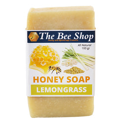 Honey Soap - Lemongrass & Bee Pollen 100gr