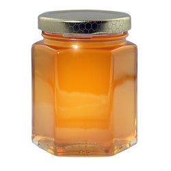 Gift Honey 250 gr Hexagonal jar