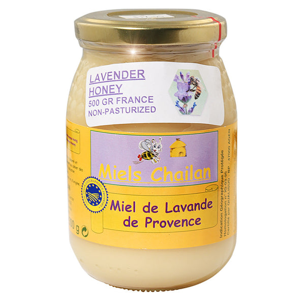 Lavender Honey Unpasteurized Chailan France 500gr