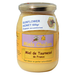 Sunflower Honey Unpasteurized 500gr Chailan France