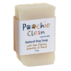 Poochie Clean Natural Dog Soap 100gr by KIBO