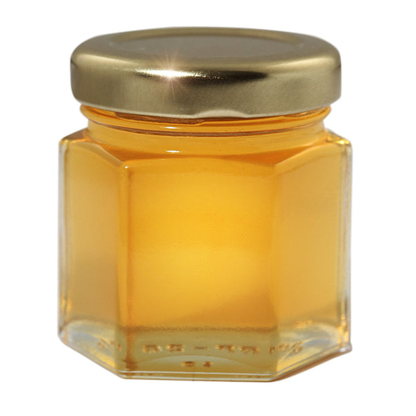 Gift Honey Small Size 50 gr Hexagonal Jar