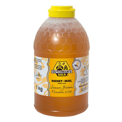 Summer Blossom Honey 1kg Squeezable Container