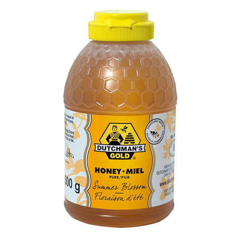 Summer Blossom Honey 500g Squeezable Container