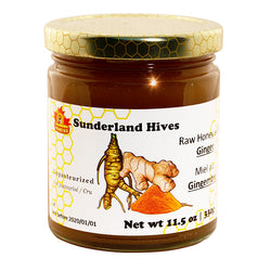Ginger Raw Honey Blend 330gr Sunderland
