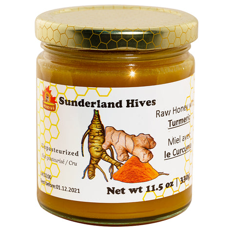 Turmeric Raw honey Blend 330gr Sunderland