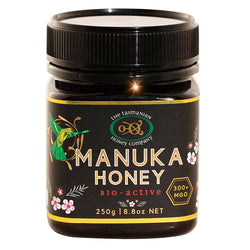 Manuka Honey 250gr Tasmanian Honey Company Silver Grade MGO 300 Product of Australia