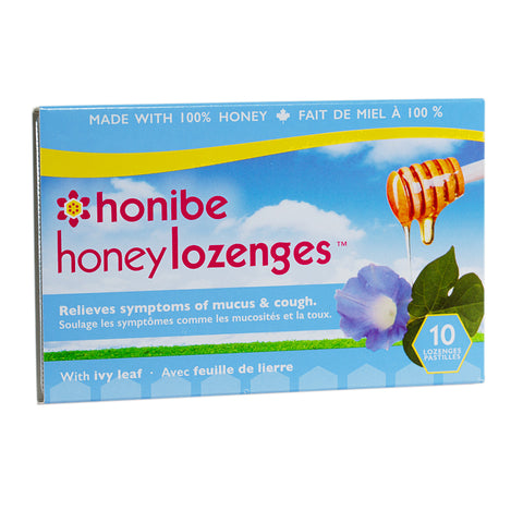 Honey Lozenges with Ivy Leaf by Honibe