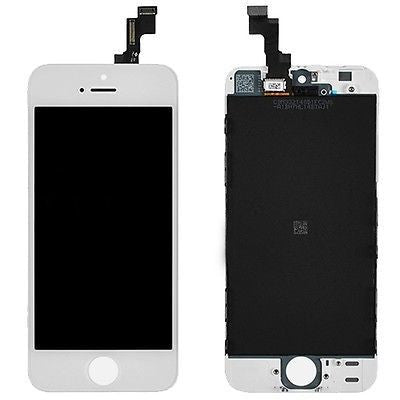 iPhone 5S LCD Screen - White (Premium Grade)