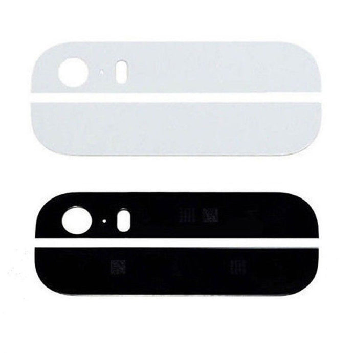 iPhone 5S Back Glass - White / Black