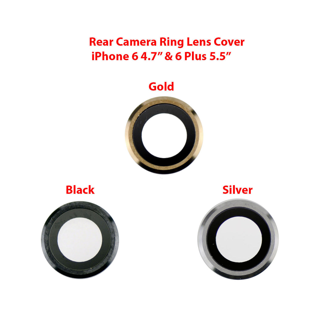 iPhone 6+ Plus Camera Lens - Black / Silver / Gold
