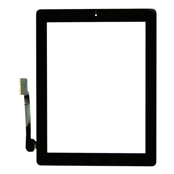 iPad 3/4 Screen (Black) - Glass Digitizer