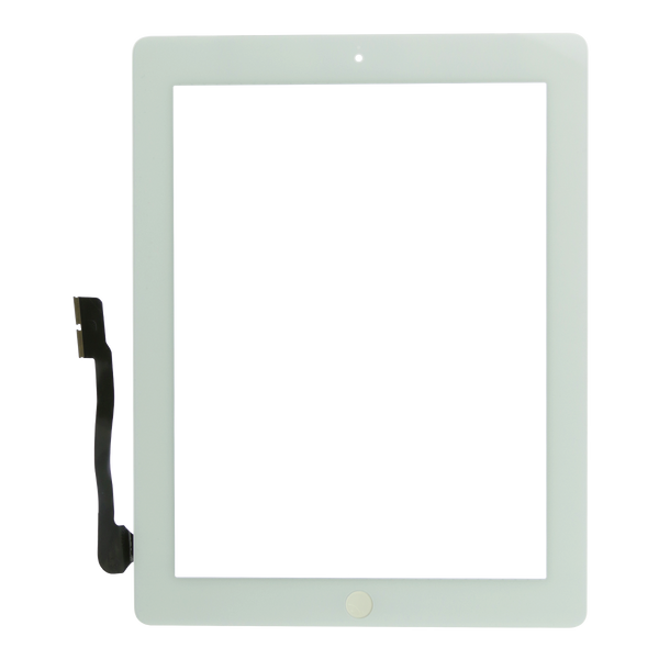 iPad 3/4 Screen (White) - Glass Digitizer
