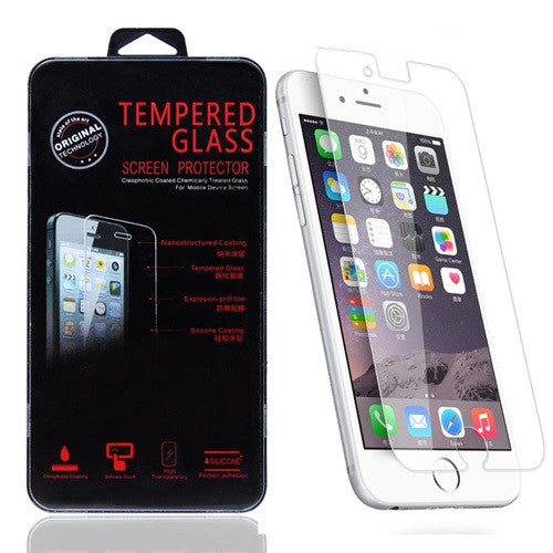 Tempered Glass, iPhone 6 / 6S - Bulk, No Packaging