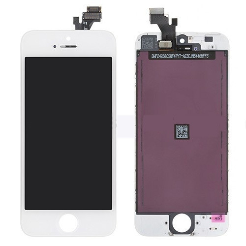 iPhone 5 LCD Screen - White (Premium Grade)