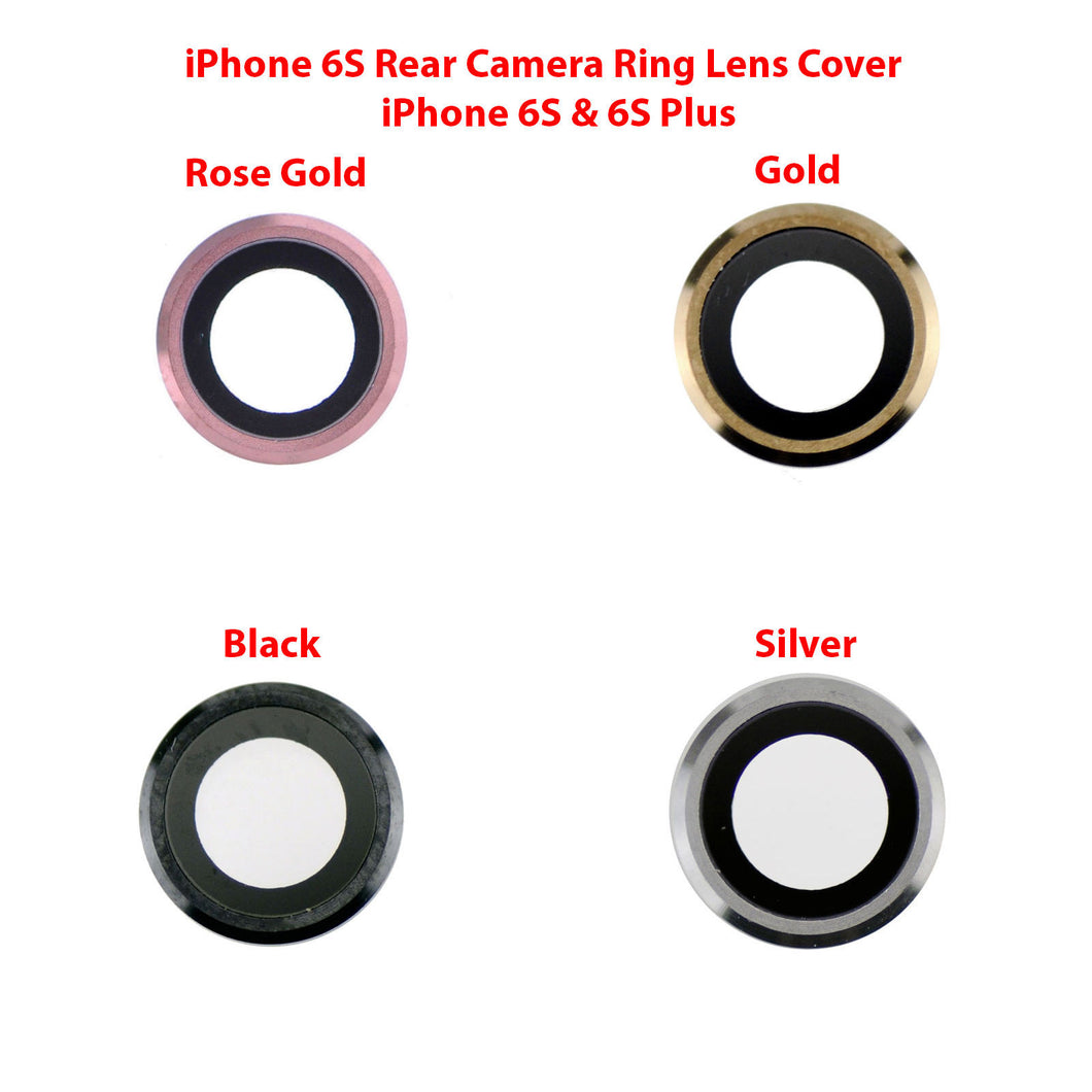 iPhone 6S Camera Lens - Black / Silver / Gold / Rose