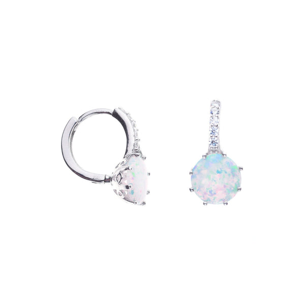 30a641241 Aurelia White Opal Earrings