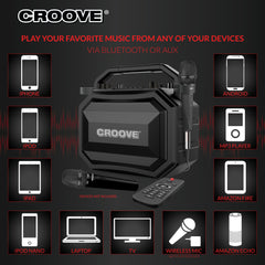 Croove Party Box Karaoke