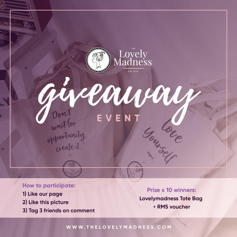 LOVELYMADNESS TOTE BAG WINNERS DRAW