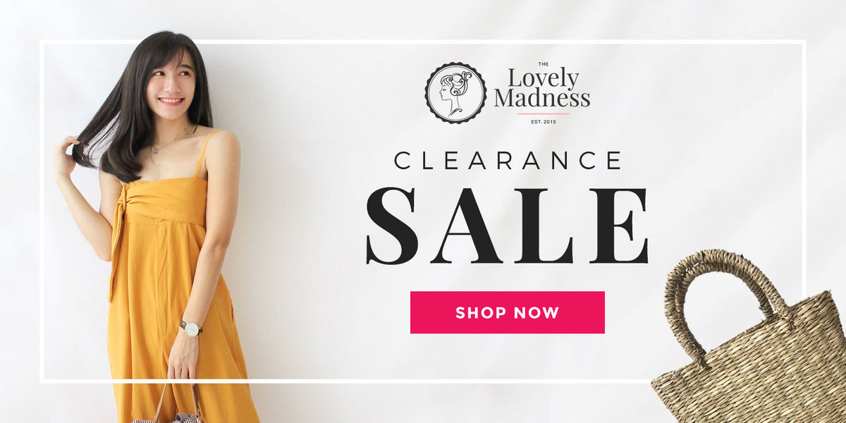 Clearance Sale 25% Off - Malaysia Online Fashion Clothing