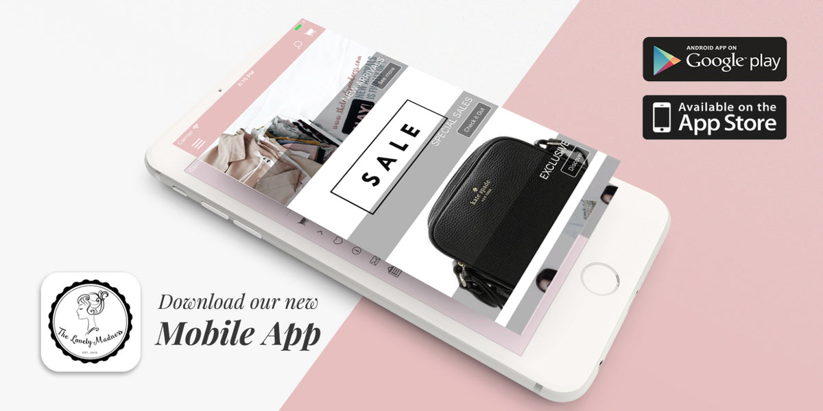 Download our new Mobile App - Malaysia Online Fashion Clothing