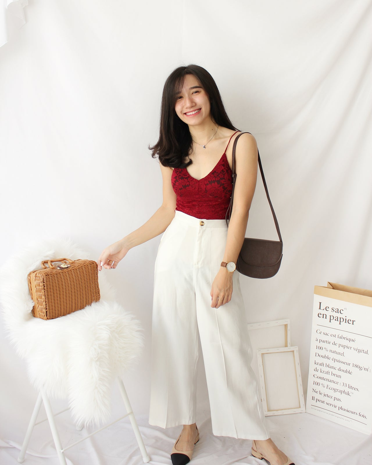 Korean Chic Leather Bag - LovelyMadness Clothing Online Fashion Malaysia