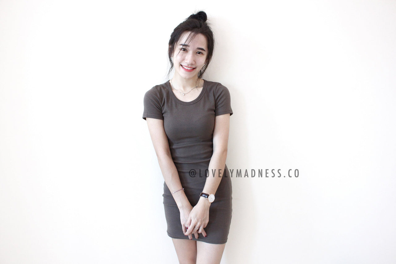 Jenelle Bodycon Dress - LovelyMadness Clothing Online Fashion Malaysia