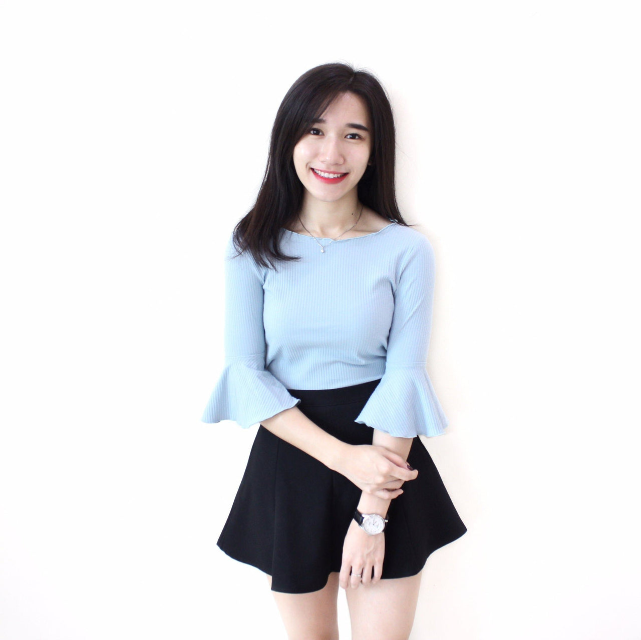 Quarter Flare Sleeve Top