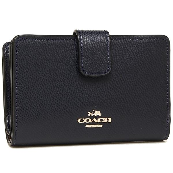 COACH CROSSGRAIN MEDIUM CORNER ZIP WALLET