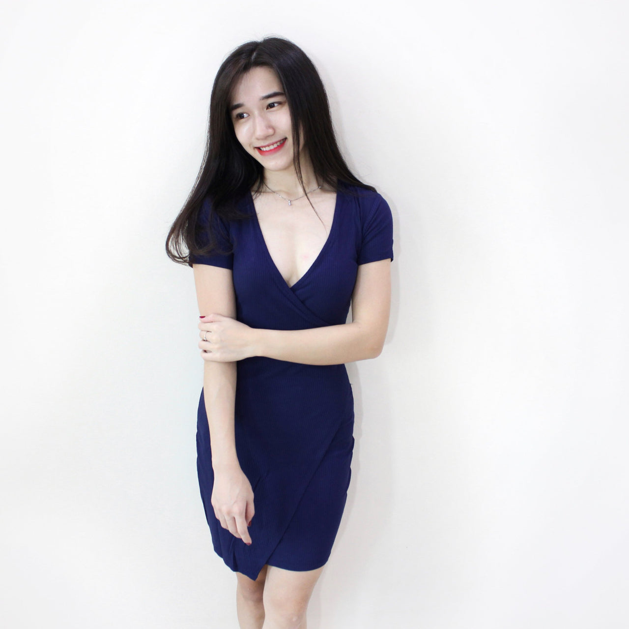 Kendall MINI Wrap Dress - LovelyMadness Clothing Online Fashion Malaysia