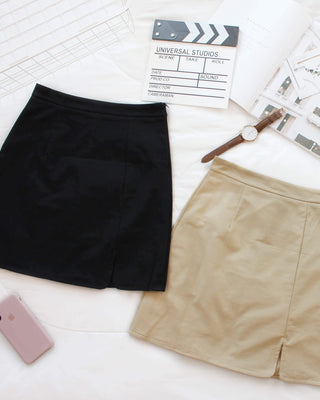 Side Split Skirt - LovelyMadness Clothing Online Fashion Malaysia