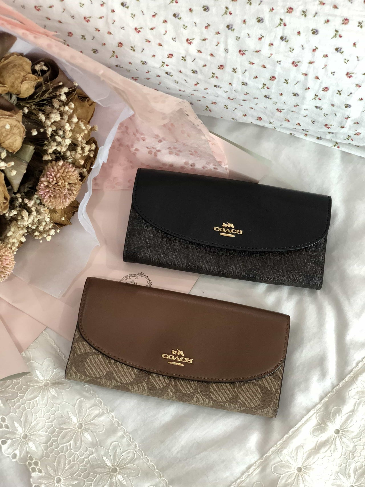 COACH SLIM ENVELOPE WALLET IN SIGNATURE - LovelyMadness Clothing Online Fashion Malaysia